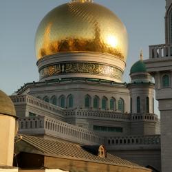 Сусальное золочение куполов и полумесяцев мечетей