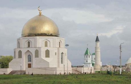 Изготовление купола и полумесяца с покрытием нитридом титана для Памятного знака