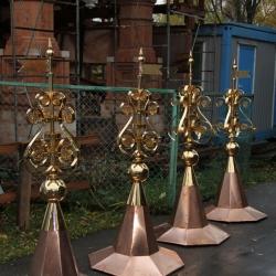 Гальваническое золочение мечетей