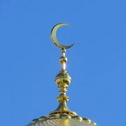 Сусальное золочение мечетей