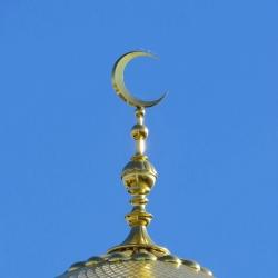 Изготовление полумесяцев мечетей