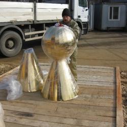 Изготовление шаров мечетей